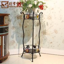 焊接铁金属工艺支架结构拆装艺术欧式 V2404花架