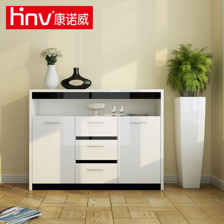 康诺威 密度板/纤维板箱框结构储藏简约现代 餐边柜