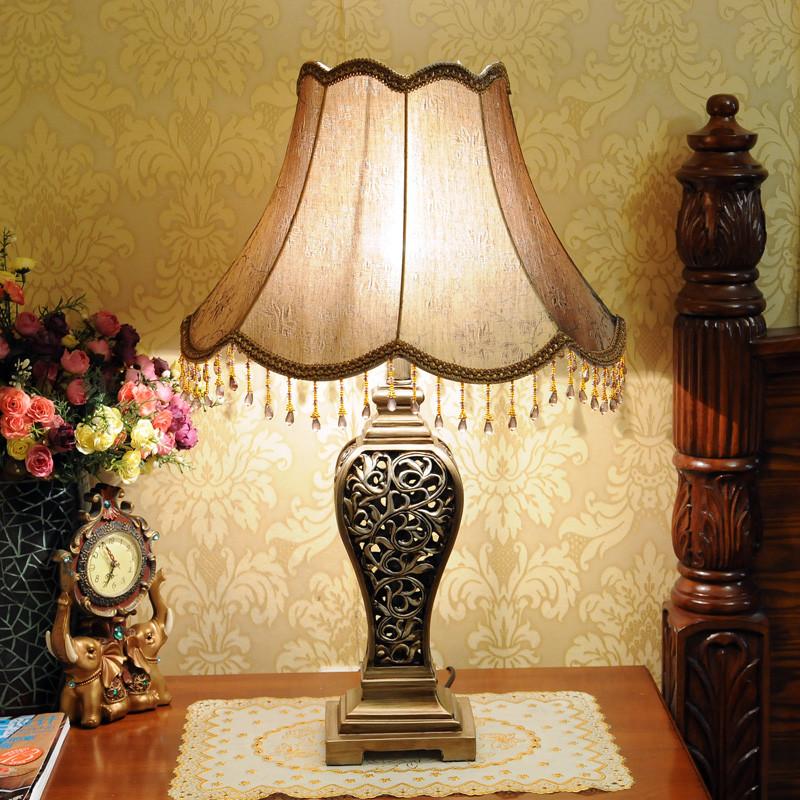 欧柏图布树脂欧式白炽灯节能灯台灯