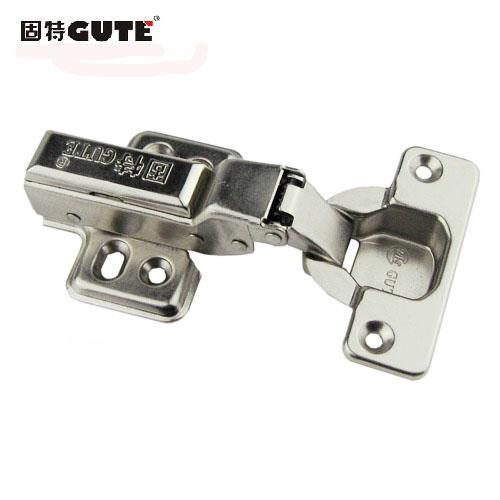 固特 铁固定式液压缓冲铰链滑入式 703-1门窗配件铰链