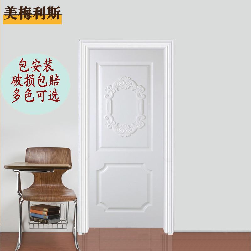 美梅利斯木烤漆平开门式门