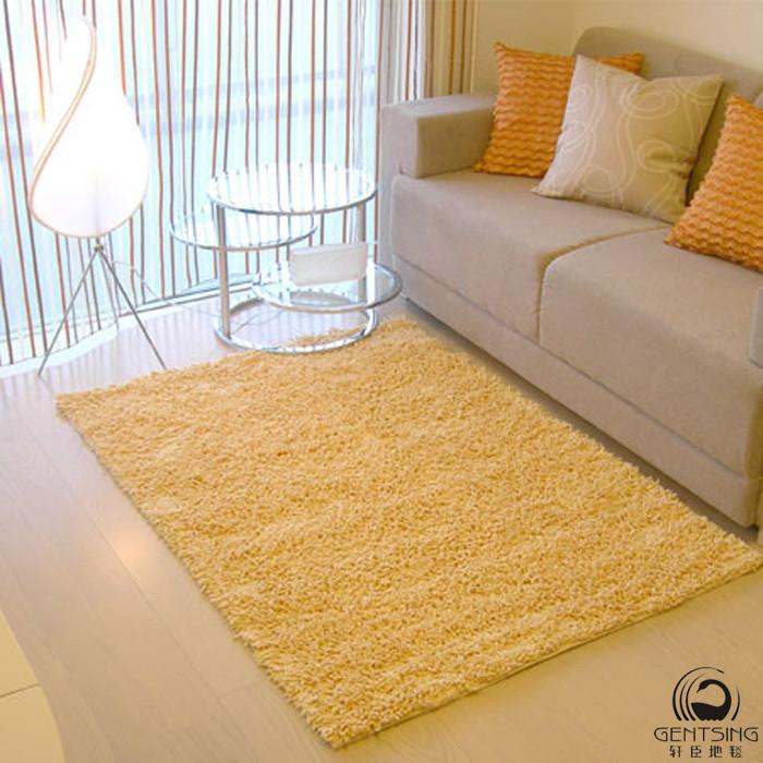 轩臣地毯 定制地毯(平)雪尼尔简约现代纯色长方形中国风机器织造 地毯