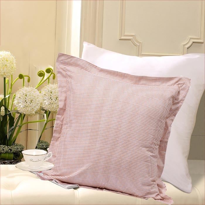 馨而乐 白色(深圳仓)斜纹布棉布正方形 枕头