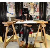 平针绣艺术品装饰简约现代 绣绷绣架刺绣