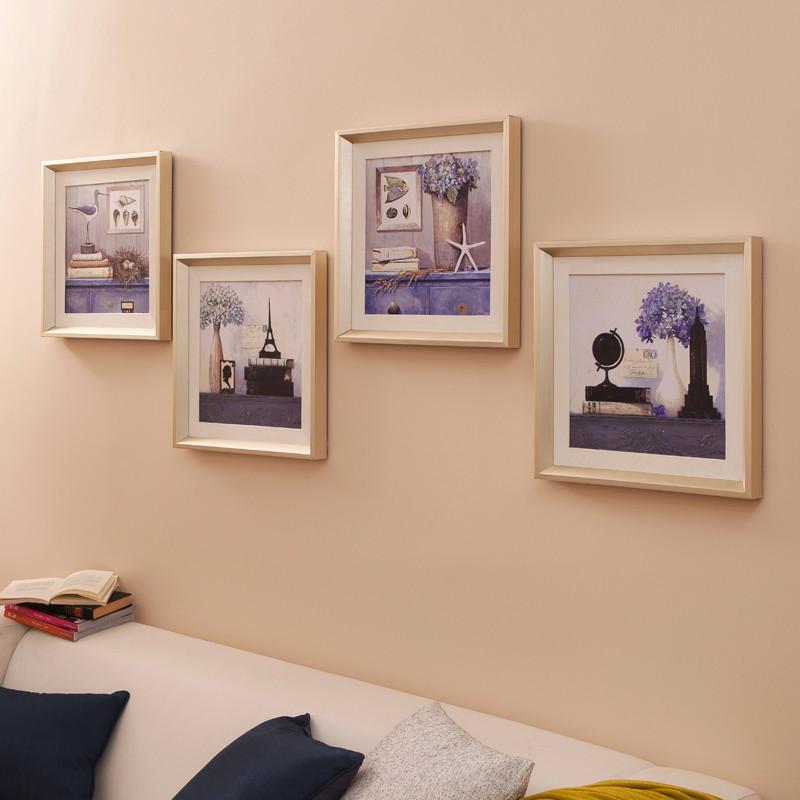 美画 平面有框一幅价格静物喷绘 装饰画