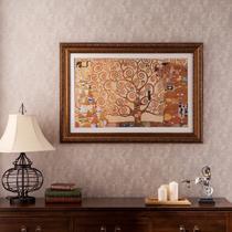 平面古金色沙金白色银色有框单幅静物喷绘 DJ3103装饰画