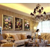 如图平面有框单幅植物花卉手绘 ws1235894油画