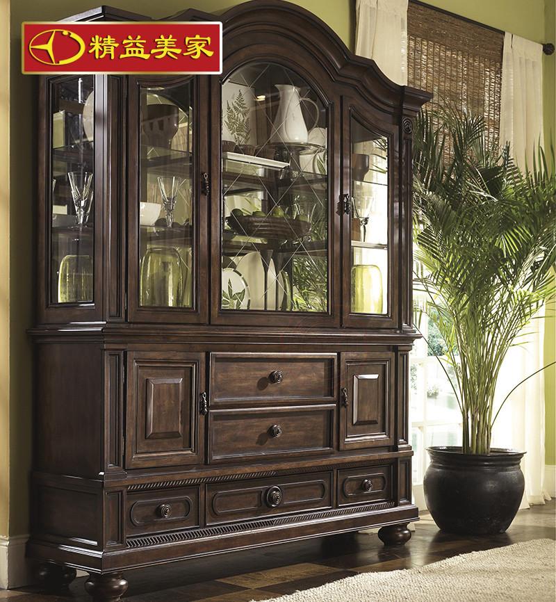 欧式酒柜 厨房储物柜图片