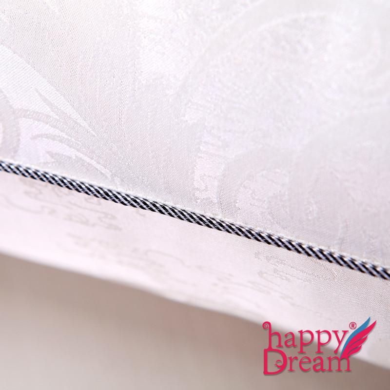 快乐梦想单个欧式情怀优等品蚕丝长方形枕头护颈枕