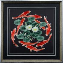 艺术品装饰现代中式 绣图吧编号:17001苏绣