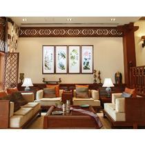 平针绣艺术品装饰现代中式 69407苏绣