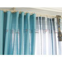 布装饰+半遮光平帷麻涤纶混纺纯色简约现代 窗帘