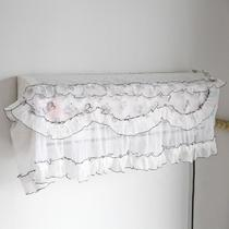 蕾丝挂式空调罩规格1田园 空调罩