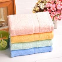 毛巾四条装纯棉面巾百搭型 面巾
