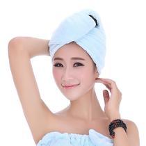 玫红浅紫浅粉果绿浅蓝个人洗漱/清洁/护理通用 干发巾