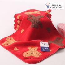 红棕各一条红色棕色纯棉</=5s方巾百搭型 方巾