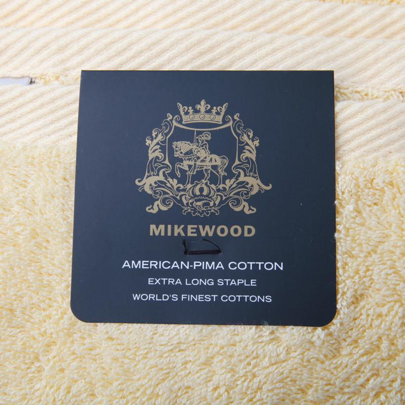 邁克美林 金黃深棕酒紅白色天藍純棉面巾百搭型 毛巾