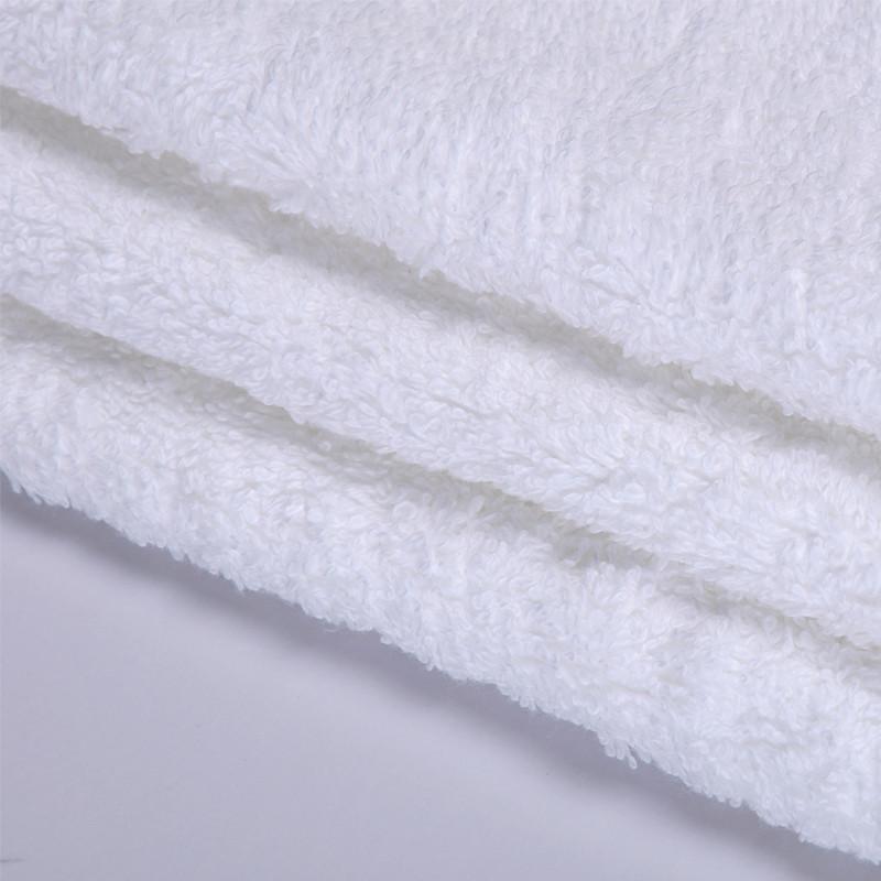 浩然依依 白色纯棉HRYY-50方巾百搭型 方巾