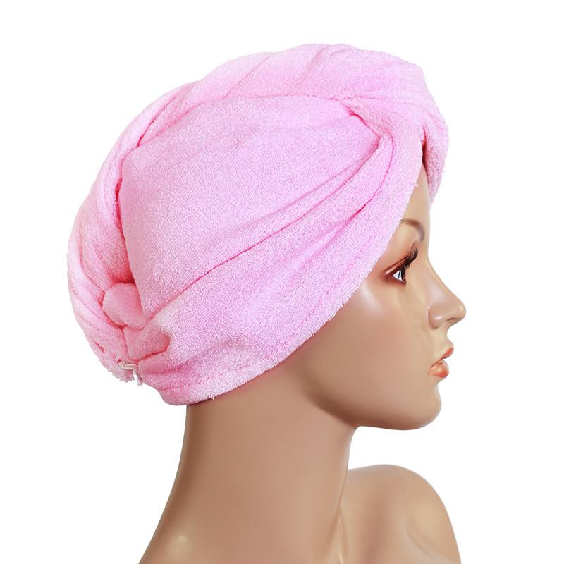 绿卿浅蓝色淡粉红白色个人洗漱清洁护理通用干发巾