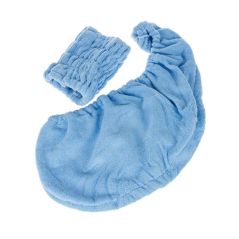 眾煌 紫色粉紅色天藍色個人洗漱/清潔/護理通用 干發巾