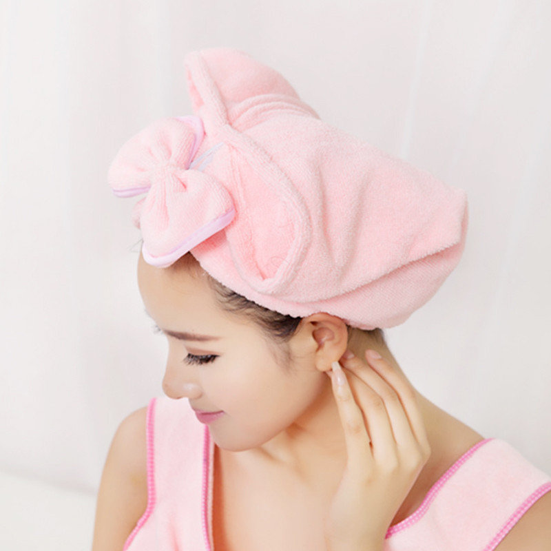 緣木軒 個人洗漱/清潔/護理通用 干發帽干發巾