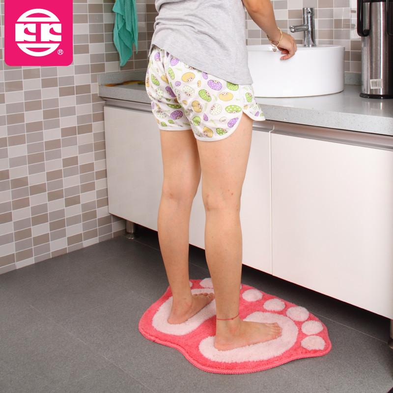 KOKO 绒面卫浴卡通动漫简约现代机器织造 地垫