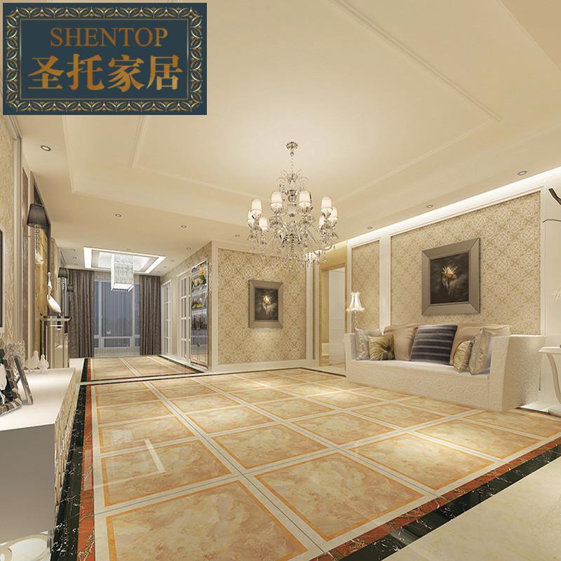 圣托c013c仿拼花室内地砖欧式 瓷砖图片