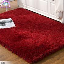 化纤简约现代涤纶纯色长方形日韩机器织造 地毯