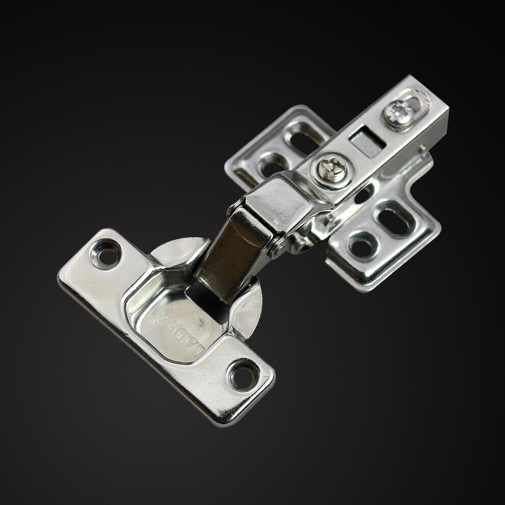 蓝鼎 不锈钢固定式液压缓冲铰链卡式 门窗配件铰链