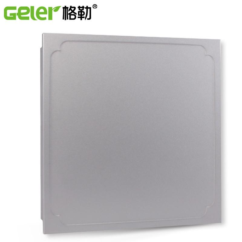 格勒 铝合金抗油污滚涂板 扣板