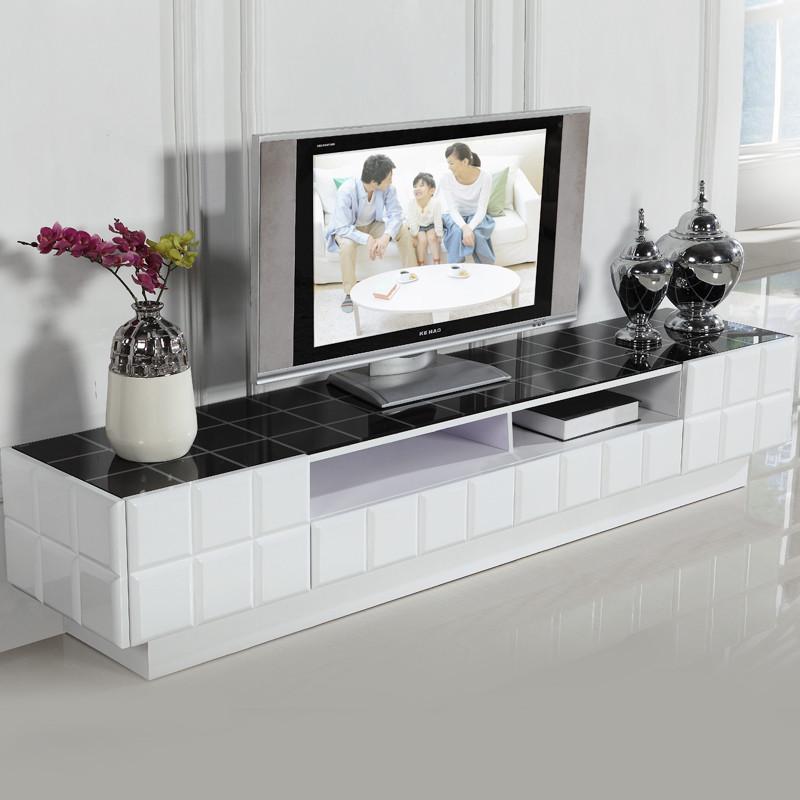艾利格 人造板烤漆密度板/纤维板玻璃框架结构储藏成人简约现代 DS163电视柜