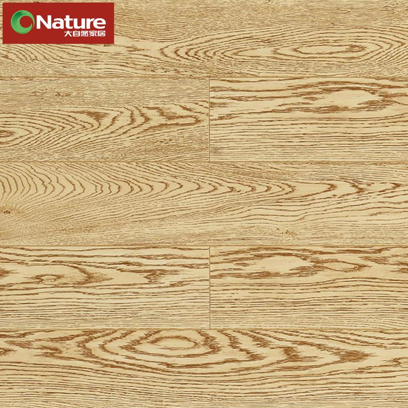 大自然 高密度纤维板单锁口 DSQ0009 银色橡木地板