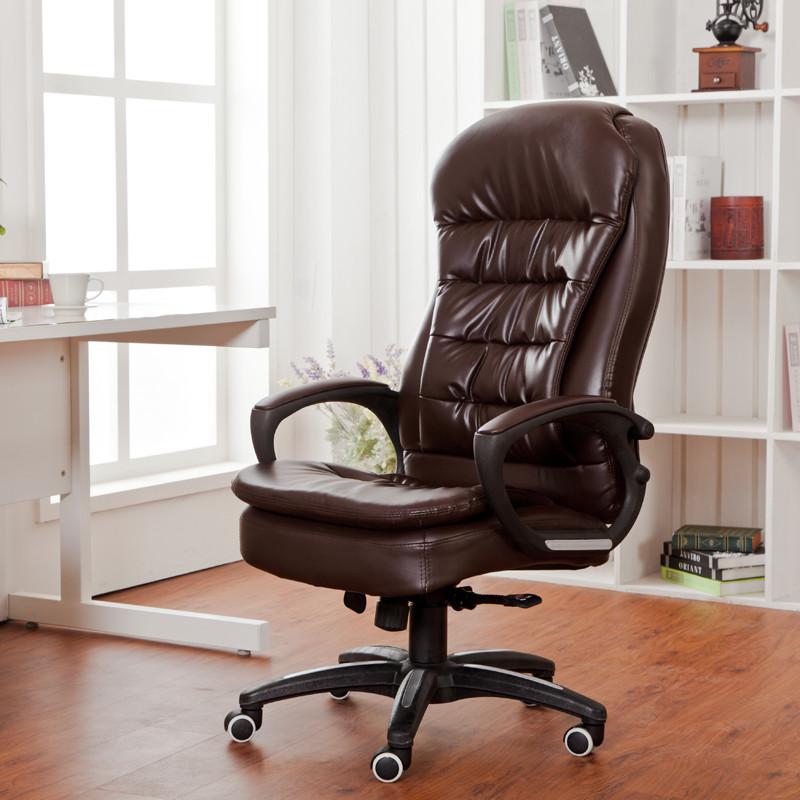 优世 金属固定扶手铁合金尼龙脚铝合金脚钢制脚皮艺 b056电脑椅