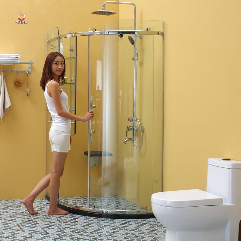 艾戈恋家 移门式弧扇型 EBG31淋浴房