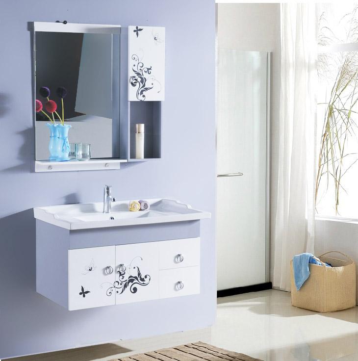 帝宏 PVC板一体陶瓷盆 wyPVC浴室柜浴室柜