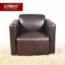 皮革高弹泡沫海绵成人简约现代 PS27#沙发椅
