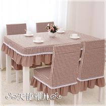 布格子韩式 桌布