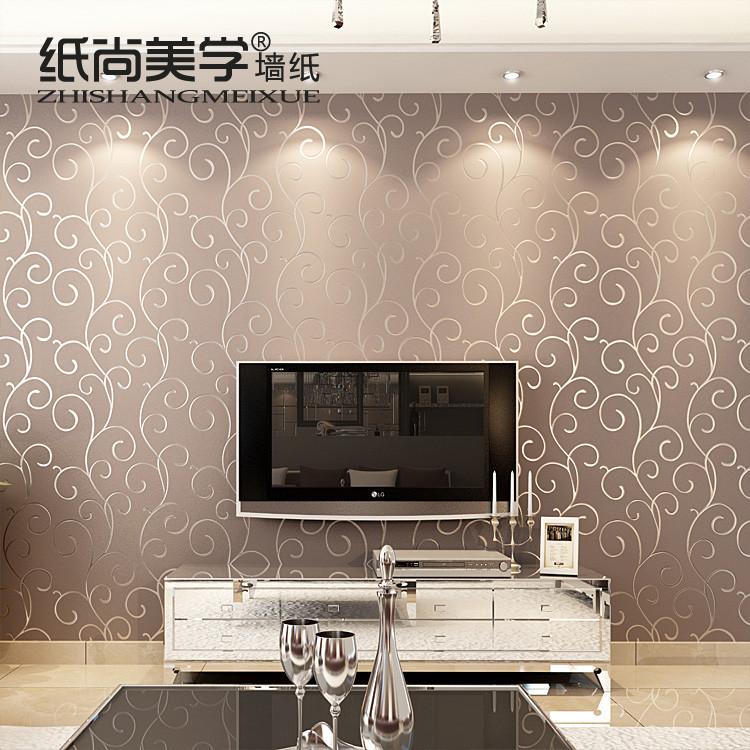 纸尚美学 毛面有图案客厅欧式 zs15013墙纸