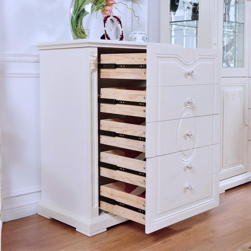 金荔轩 大空间存储五斗柜框架结构橡木储藏植物花卉成人欧式 斗柜