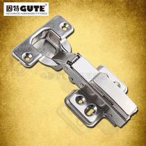 不锈钢固定式液压缓冲铰链滑入式 301-1门窗配件铰链