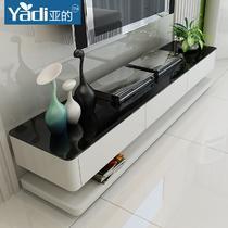 人造板烤漆密度板/纤维板玻璃框架结构储藏品牌LOGO成人简约现代 电视柜