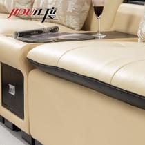 接触面真皮L形木质工艺桦木储藏化纤简约现代 2218C沙发