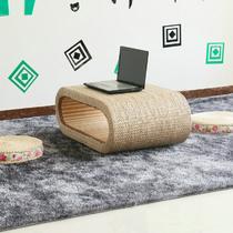 面层编制竹藤工艺木质工艺旋切整装字母 Q003榻榻米