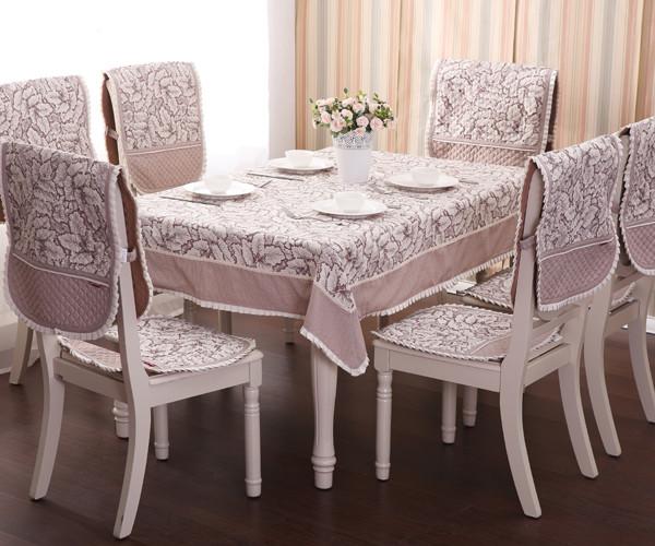赛丽尔 布植物花卉欧式 桌布