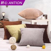 布靠垫化纤纯色简约现代 抱枕