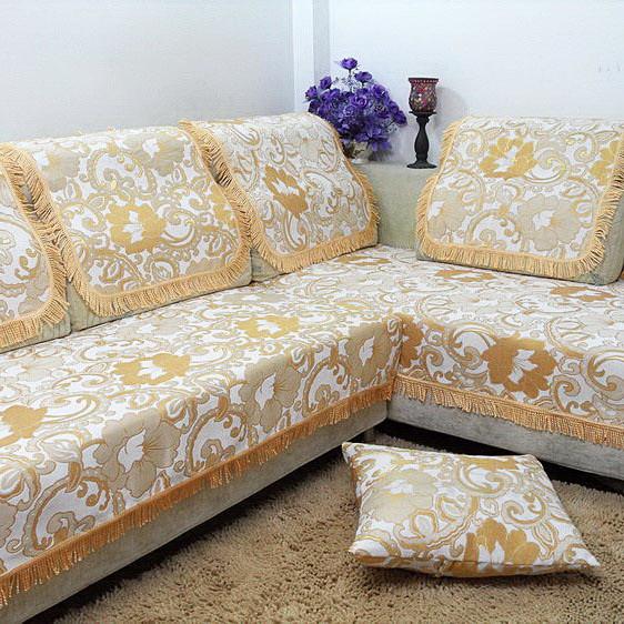 好多家 布植物花卉组合沙发欧式 防尘罩