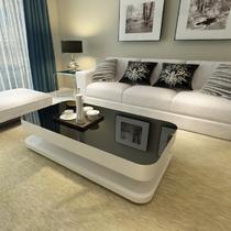 钢化车床密度板/纤维板玻璃工艺人造板工艺简约现代 茶几