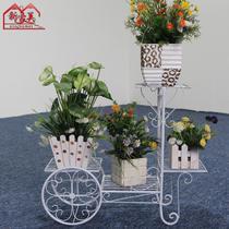 焊接铁金属工艺框架结构拆装植物花卉欧式 花架