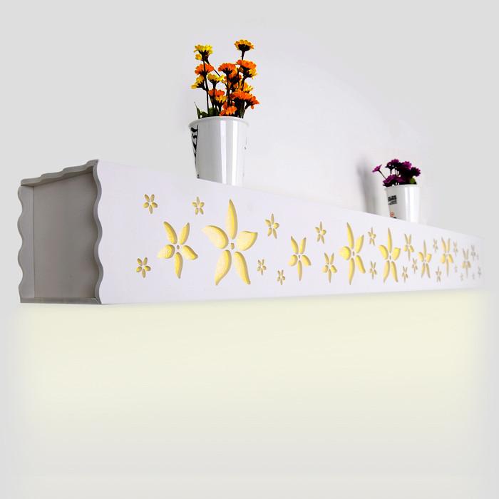 亮节 简约现代镂空雕花节能灯LED 壁灯