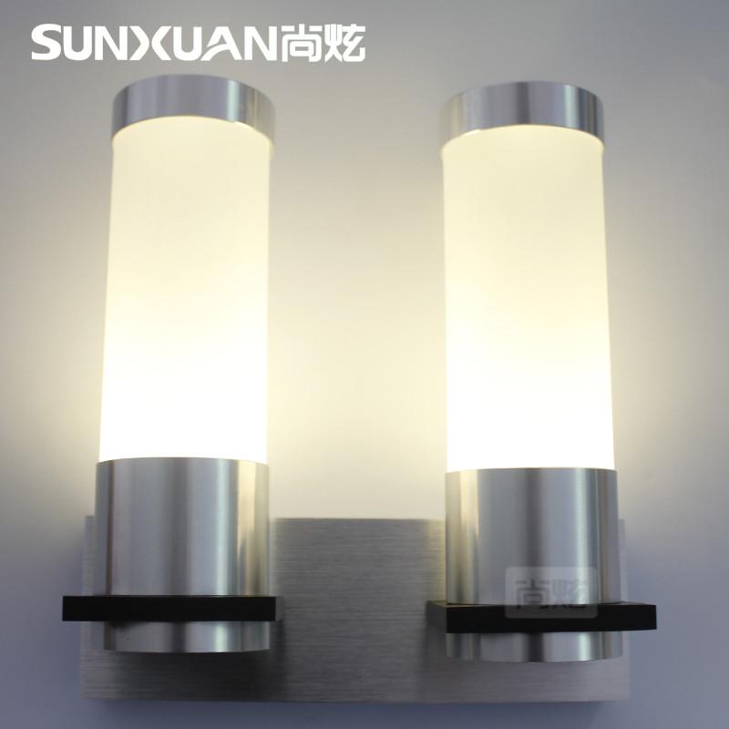 尚炫玻璃铝简约现代壁灯